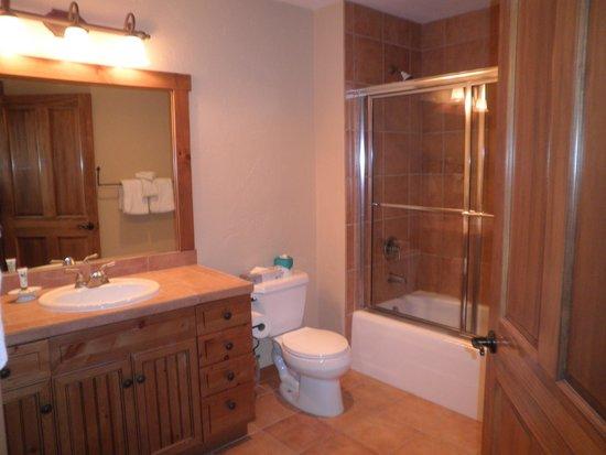 Mountain Thunder Lodge: Bathroom