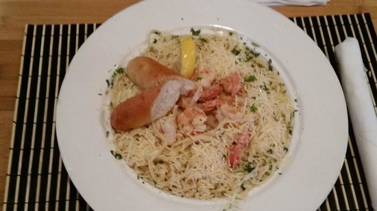 PadreRitaGrill: The Shrimp Scampi Pasta