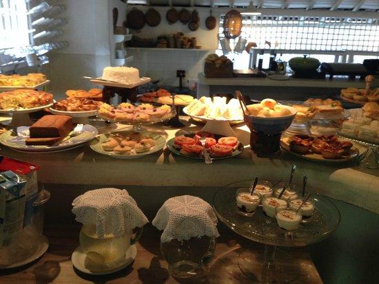 Pousada Capim Santo: breakfast