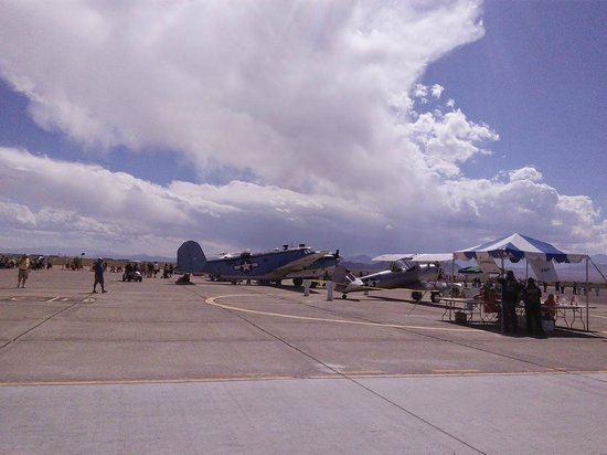 Historic Wendover Airfield : During the Air Show - Wendover