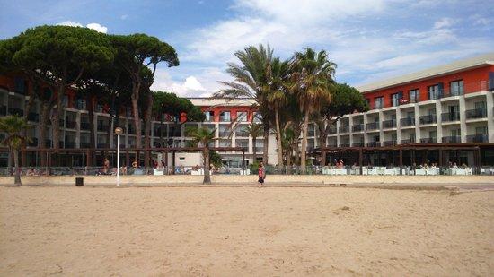 Estival Centurion Playa: Hotel from Beach
