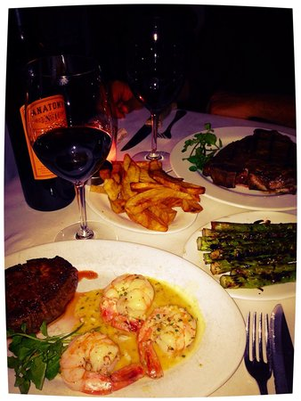 West Side Steakhouse : Great meal!