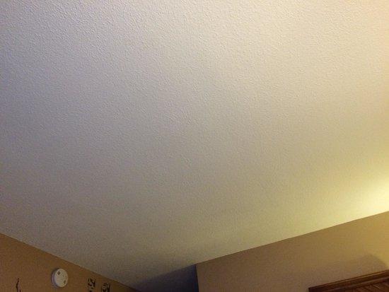 Kings Inn: No overhead light