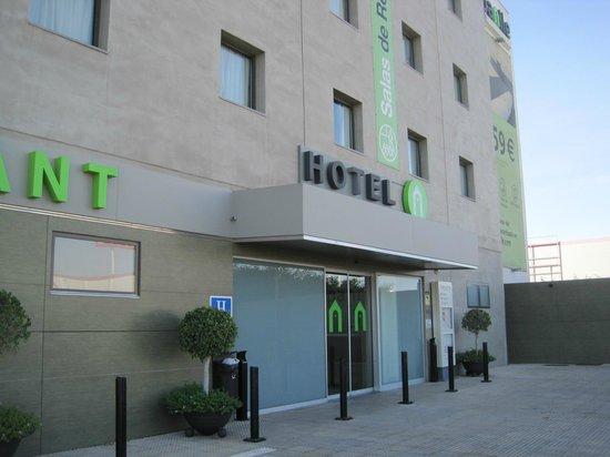 Campanile Malaga : Fachada del Hotel