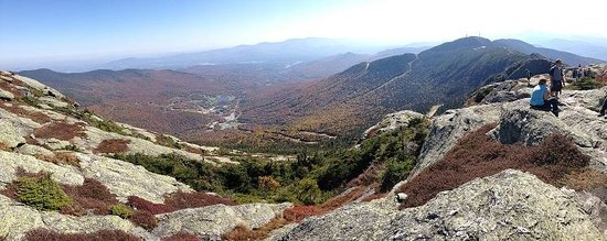 Topnotch Resort: View South from Mt. Mansfield summit