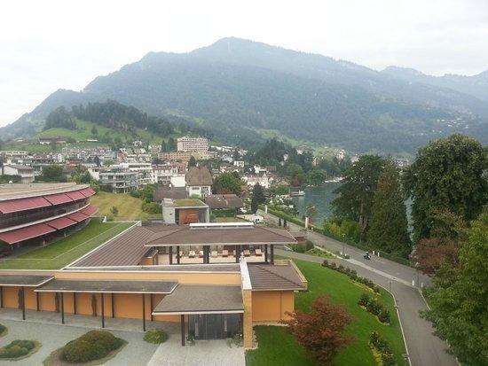 Park Weggis: the Town Weggis