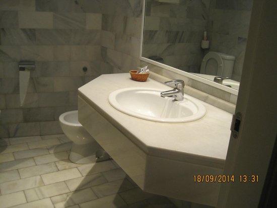 Hotel Don Paco: cuarto de baño