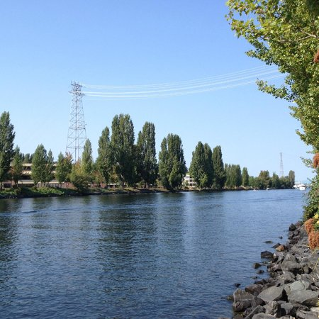 Burke-Gilman Trail: Ship Canal from Lake Union