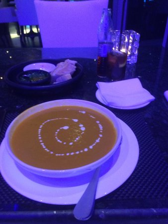 The Gaucho Grill: Soup and starters with soft drink