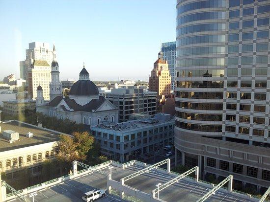 Hyatt Regency Sacramento : View from the window of my room