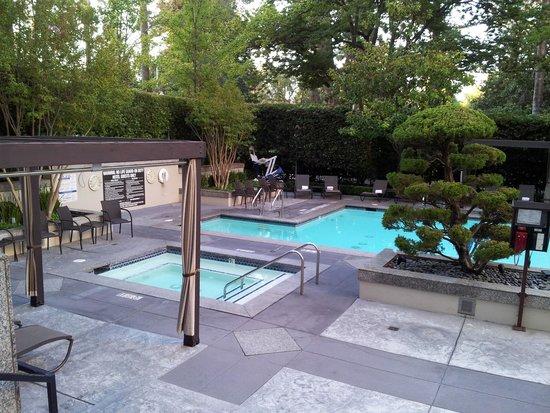 Hyatt Regency Sacramento : Pool Area