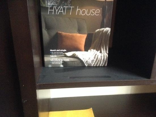 HYATT house Morristown: no han limpiado en meses!
