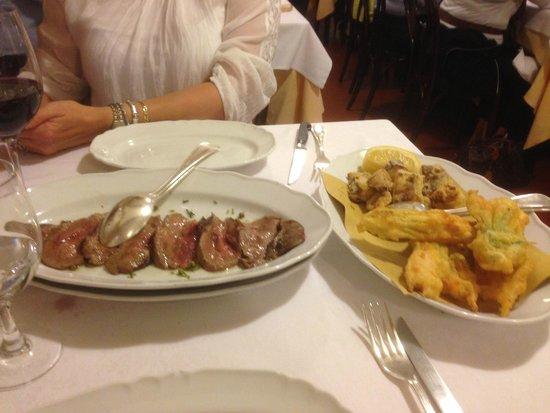 da Nello al Montegrappa : The main course