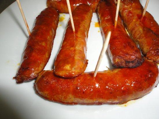 Bodega el Pata Negra : Chorizo Asado