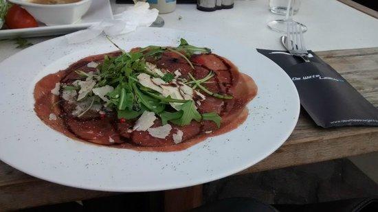 Restaurant De Witte Leeuw: Carpaccio