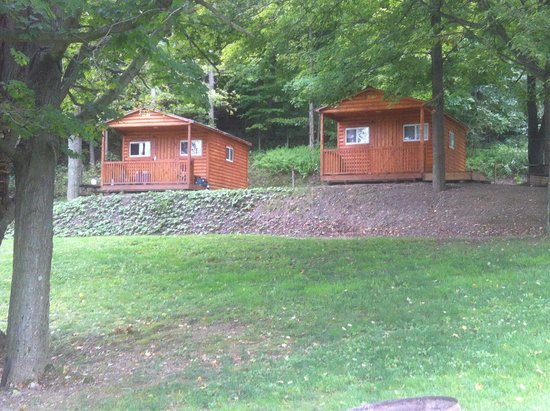Bear Ridge Campground And RV Resort: Cabins @ Bear Ridge: Very Rustic;  Electric