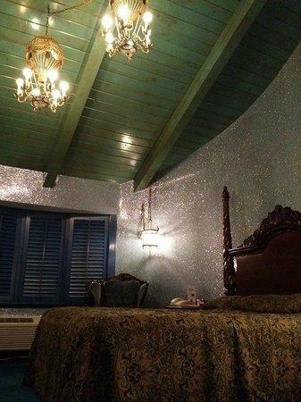 """Madonna Inn: our room """"Go"""""""