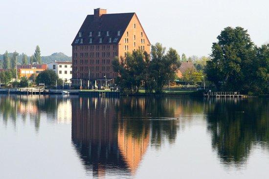 Aussenbereich Picture Of Hotel Speicher Am Ziegelsee Schwerin