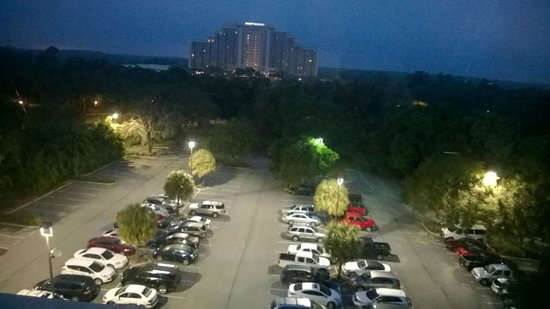 DoubleTree Suites by Hilton Orlando - Disney Springs Area: From seventh floor the night we arrived.