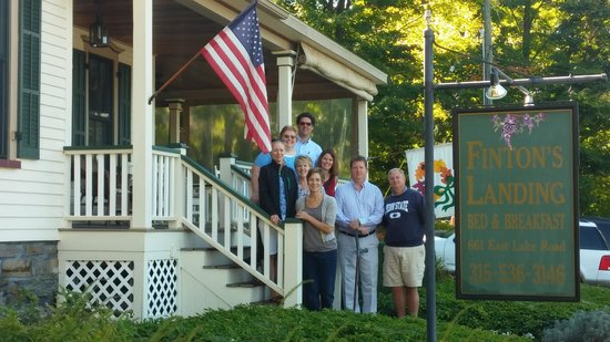 Finton's Landing B&B: Quality time with friends
