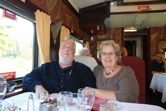 Delaware & Ulster Railroad: Dining Car Interior