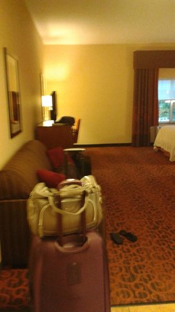 Hampton Inn by Hilton Bangor: so much space!