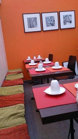 Hotel Boissiere : Salle petit dejeuner
