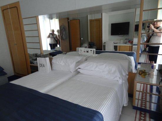 Atlantic Hotel Riccione: Наш номер 322