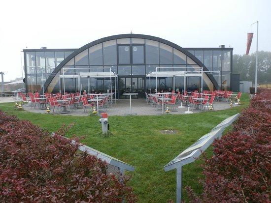 Runway 34: View of restaurant
