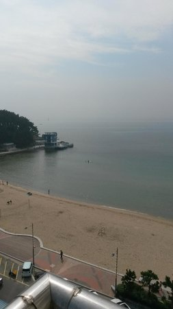 Songjung Hotel : view from room balcony