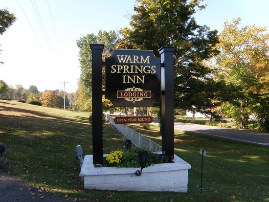 "Warm Springs Inn: ""The Inn with charater"""