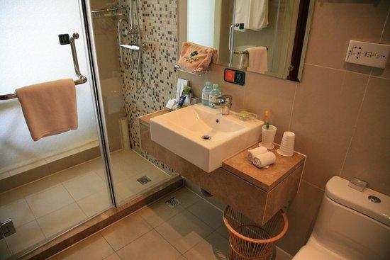 Wanshou Hotel: Bathroom