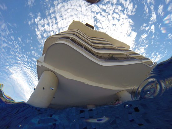 Resorts by Pinnacle 180 : View from the bottom of the pool!!