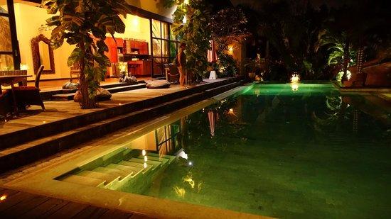 Lautan Kupu - Kupu Villas: La piscine