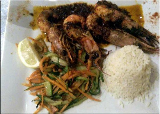 Le lodge : Shrimp Provencal