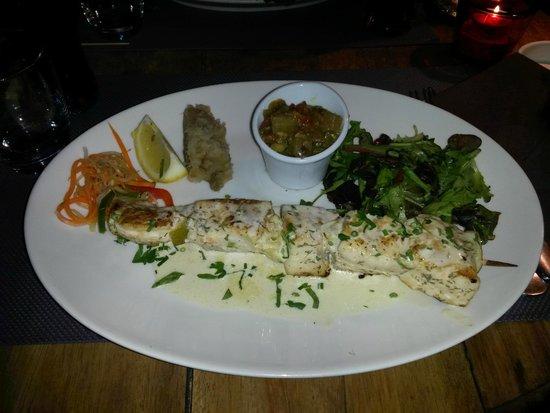 La Bobine : Brochette poisson