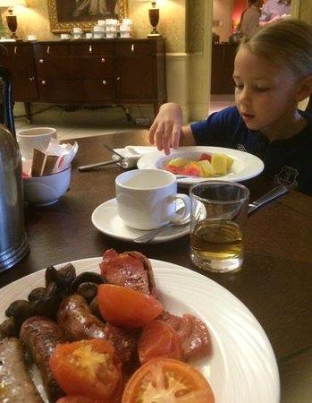 Preston Marriott Hotel: gorgeous breakfast
