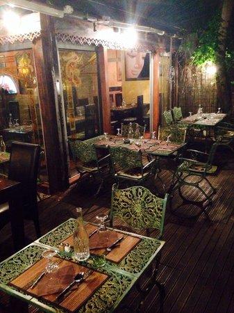 Le Cafe Thai: Intérieur !!!