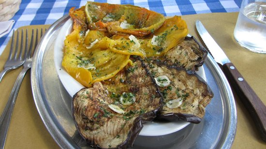 Ristorante la Castellana: Grilled vegetables