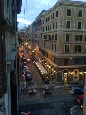 Hotel Castelfidardo: View from the room
