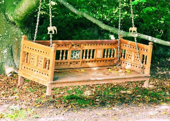 Ansbach, Niemcy: Schlosspark Dennenlohe