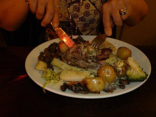 Exmoor Forest Inn: A fine meal!