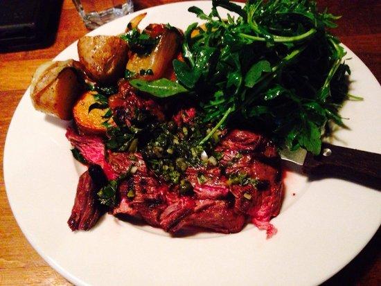Tufnell Park Tavern : Rare steak