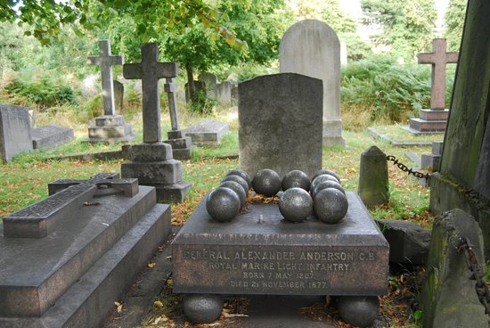 Brompton Cemetery: Different