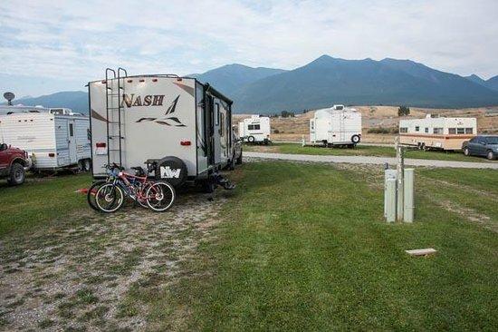 Silverado Motel: View of our RV site