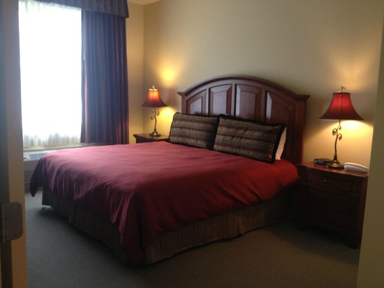 The Pointe at Castle Hill Resort: bed