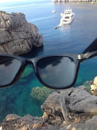 Experience Mallorca: view from the rock