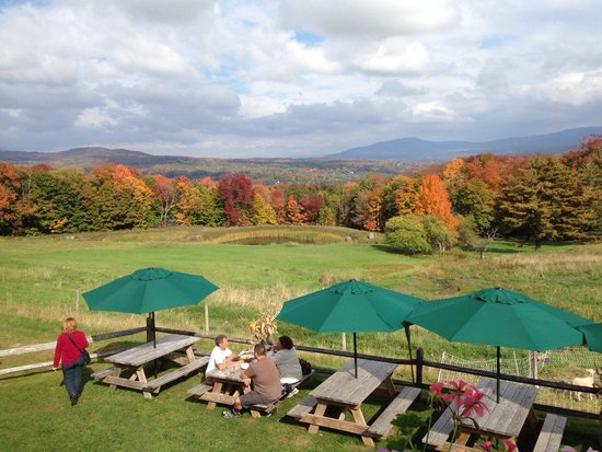 The Delibakery at Trapp Family Lodge: Beautiful views