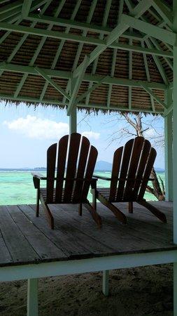 Kura Kura Resort : angolo tranquillo del Blue Bar