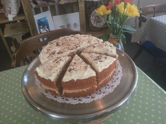 The Old Stables: Cappuccino Cake